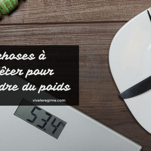 Tout savoir sur la perte de poids